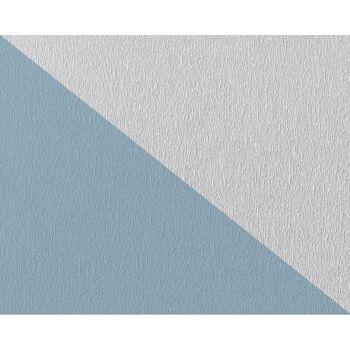 EDEM 378-60 1 Kart 5 Rollen Decor Decken Wand Vlies-Tapete zum Überstreichen weiß | 132 qm