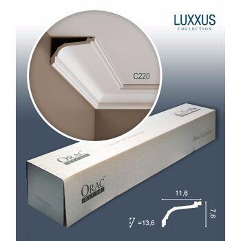 Orac Decor C220 LUXXUS 1 Karton SET mit 20 Eckleisten Stuckleisten | 40 m