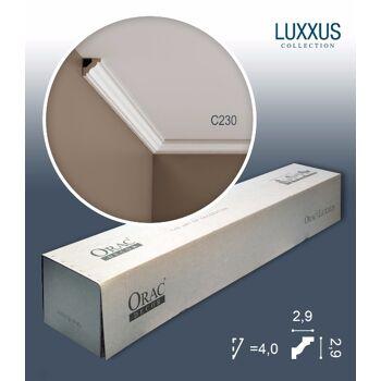 Orac Decor C230 LUXXUS 1 Karton SET mit 50 Eckleisten Stuckleisten | 100 m
