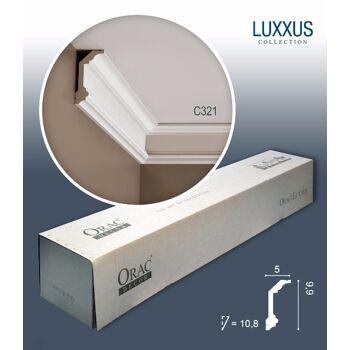 Orac Decor C321 LUXXUS 1 Karton SET mit 20 Stuckleisten   40 m