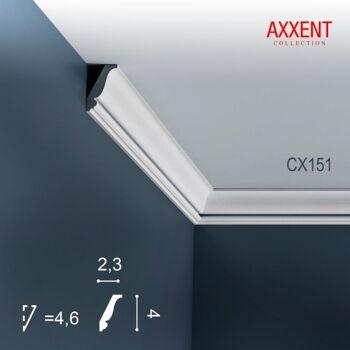 Orac Decor CX151 AXXENT Karton SET mit 60 Eckleisten Stuckleisten | 120 m