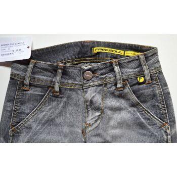 Freesoul Damen Jeans Hose Gr.25 (W25L34) Freesoul Jeans Hosen 24051404