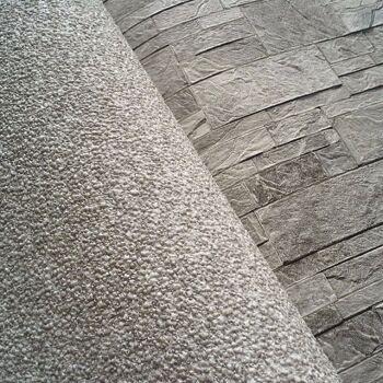 3D Stein Vliestapete EDEM 918-34 XXL geprägte Naturstein Bruchstein-Optik hochwertig hellgrau naturgrau 10,65 qm