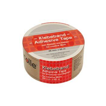ecolle Klebeband braun 48mm x 66m