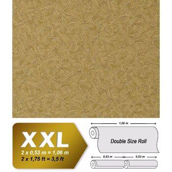 Spachtel Vliestapete Putz Tapete XXL EDEM 925-38 Doppelte Breite Stucco Venezianische spachtel-optik olive gold schimmer 10,65 qm