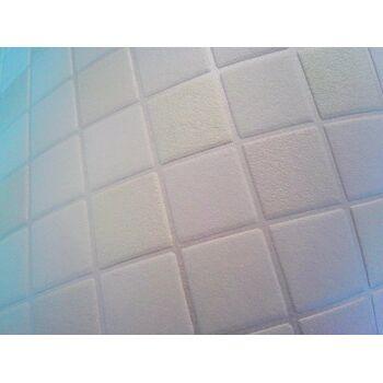 Mosaikstein Tapete Küchentapete EDEM 1022-11 Fliesen Kacheln Tapete mit geprägter Struktur naturweiß hell-beige perlmutt
