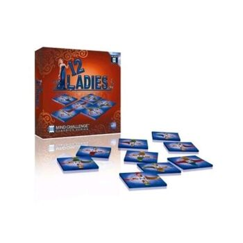 27-44552, Dr Wood Spiel Rätsel- & Geschicklichkeitsspiel 12 Ladies
