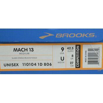 Brooks Mach 13 Medium Laufschuhe EU 42,5 UK 8 US 9 CM 27 Unisex Schuhe 46041708