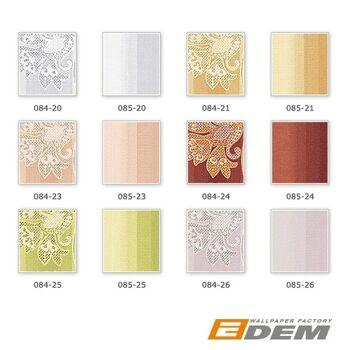 EDEM 085-24 Tapete Blockstreifen Design Streifentapete Vinyltapete rot dunkelrot