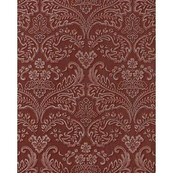 EDEM 755-26 3D Barock Präge Tapete damask orient-rot platin schattierung
