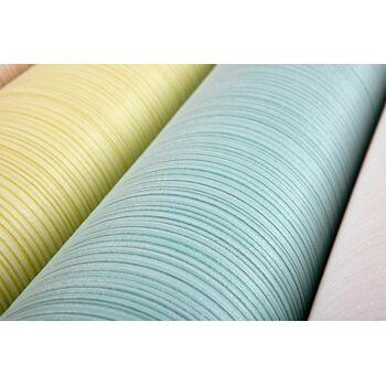 Streifen-Tapete EDEM 557-11 Hochwertige Tapete strukturiert in Textiloptik matt gelb-grün weiß-grün 5,33 m2
