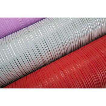 Uni-Tapete EDEM 598-24 Geprägte Tapete strukturiert mit Streifen matt rubin-rot karmin-rot 5,33 m2