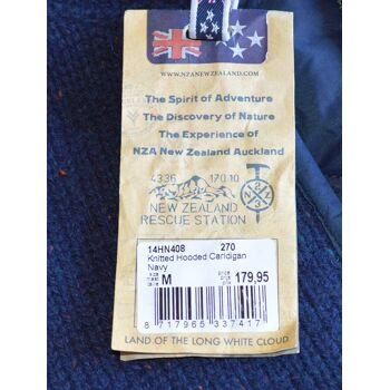 New Zealand Auckland NZA Strickjacke mit Kapuze Strick Jacken 27091800
