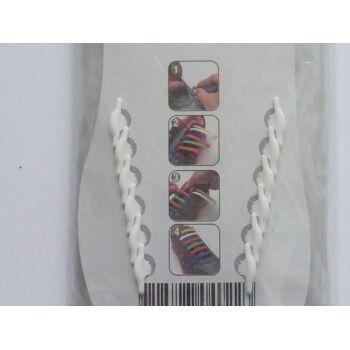 Silikon Sneaker Schuhbänder Sets, Schuhband, 10er und 12er Sets, TOP TREND Artikel