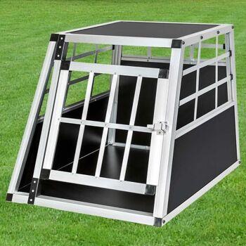 Hundetransportbox,Hundegitterbox,Alu-Hundetransportbox