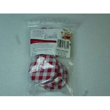 Einweckglasdeckel D 58mm, 5er Pack, Schraubdeckel für Einmachglas, Einmachgläser, Einweckglas, Flaschen, usw