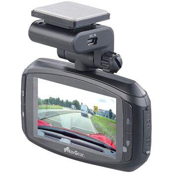 NavGear Super-HD-Dashcam MDV-3300.SHD G-Sensor Weitwinkel GPS Autokamera mit Farbdisplay Kamera Cam Auto KfZ Wohnmobil LKW Monitor Camera