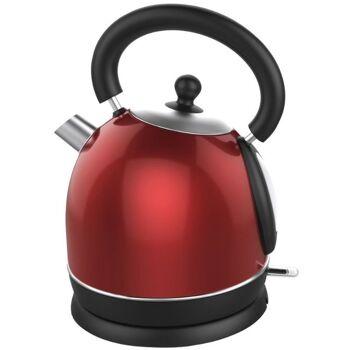 Wasserkocher 1,7 L 1800W rot