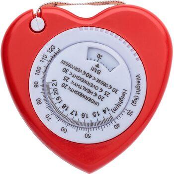 "BMI Maßband ""Heart"""