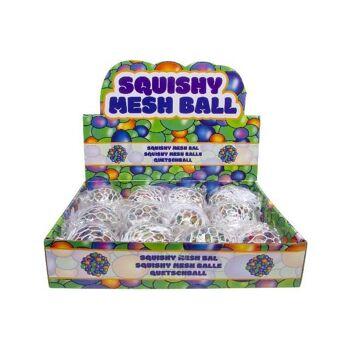 Knautschball 5 cm, zum Quetschen und Kneten, Quetschball, SQUEEZE BALL