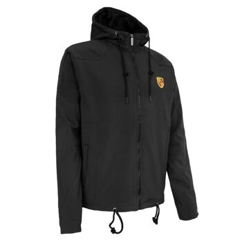 PORSCHE JACKET FOR MEN - BIG LOGO BLACK
