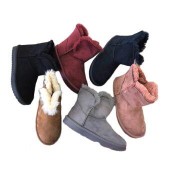 huge selection of cba2e 6398e Damen Trend Stiefeletten Outdoor Fell Boots Stiefel Halbstiefel  Schlupfstiefel Warm Gefüttert Herbst Winter Uni Schuh Shoes Freizeit Schnürs