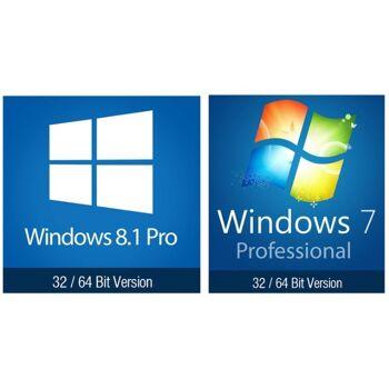 Microsoft Windows 7 Professional/ 8.1 Professional 32/64 Bit MAK Vollversion