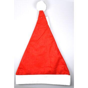 12-70160, Weihnachtsmütze mit Bommel, Nikolausmütze