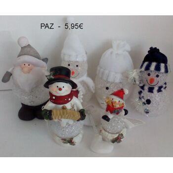 12-777777799, Weihnachtsfiguren mit LED Beleuchtung, statt 5,95 - SONDERPOSTEN