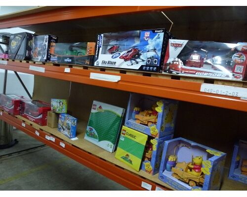 Markenspielwaren, Lego, Mattel, Playmobil, Ravensburger, Dickie, Hasbro, Fisher Price, Barbie, etc., ALLES NEUWARE, ALLES 1A SPIELWAREN