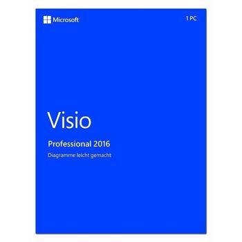 Microsoft Office Visio 2016 Professional ESD Key Vollversion