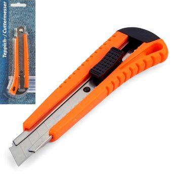 28-025227, Cutter-Messer 15,5 cm, mit Metallführung, Teppichmesser