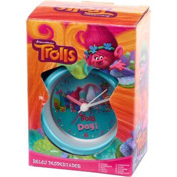 28-134000, Kinderwecker mit 2 Schellen, DreamWorks