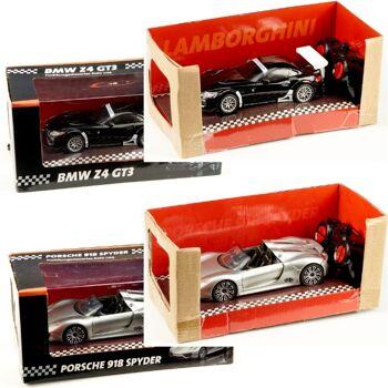 28-273597, R/C Modellauto Porsche, BMW, Lamborghini, funkferngesteuert, Lizenware