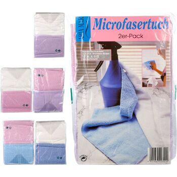 28-203014, Mikrofasertuch 40 x 40 cm, im 2er Set