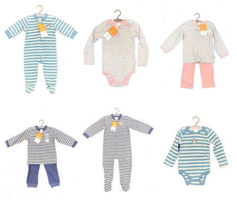 Babykleidung Winter Babytextilien Pyjamas Bodys Overalls Restposten Großhandel Baby Kleidung