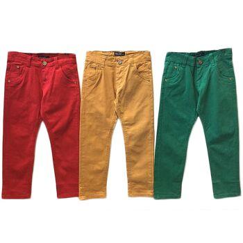 Kinder Kids Jungen Trend Hose Bunt Jeanshosen Denim Stretch Hosen Stretchjeans - 3,90 Euro