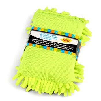 28-757622, Reinigungsschwamm Chenille, Mikrofaserschwamm zieht den Schmutz magisch an und sorgt für gründliche Sauberkeit