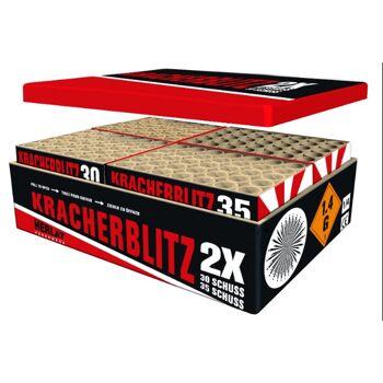 ZENA Kracherblitz 130 S Megaverbund Batterie Silvester Feuerwerk