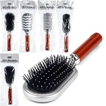 28-864001, Haarbürste aus Holz und Kunststoff