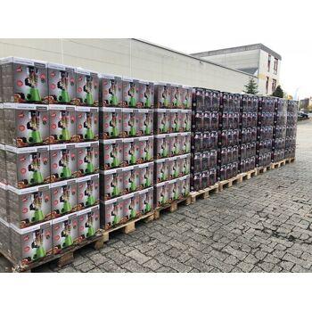 CLEANmaxx Bodenstaubsauger Effizient Plus 700 W, rot