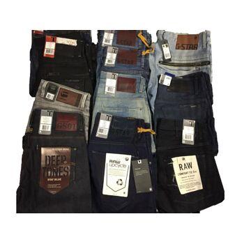 G-Star Jeans Herren Marken Hosen Markenjeans Mix Restposten Großhandel