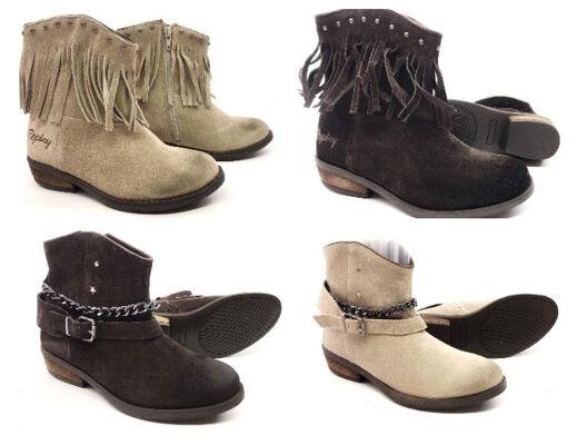 Replay Schuhe Kinder Mädchen Marken Boots Stiefel Winterschuhe Restposten