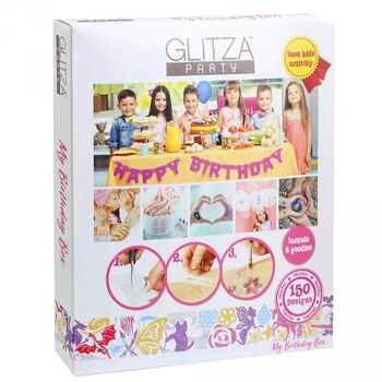 Glitza Party-Box My Birthday mit 150 Tattoos