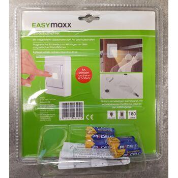 EASYmaxx LED-Schaltlicht COB Modul 3W 2er Set 4,5V inkl. Batterien