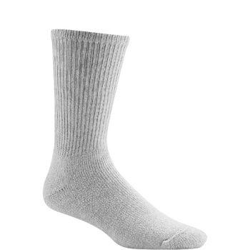 Graue Frauen Crew Socken / Sportsocken