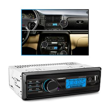 Autoradio HT-165s mit AUX / USB / SD Eingang, 2x50 Watt, LCD-Display Vordon