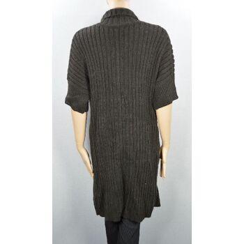 Sandwich Damen Strickjacke Gr.L Kurzarm gestrickte Damen Jacke Jacken 1-1428