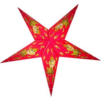 Weihnachtsstern 60cm Papier-Stern Weihnachtsdeko Dubai