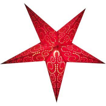 Weihnachtsstern 60cm Papier-Stern Weihnachtsdeko Phoenix